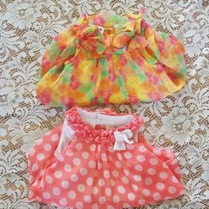 Lot of 2 baby rompers